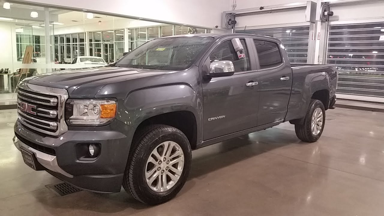 sold.2015 GMC Canyon SLT Crew Cab 4x4 Long Box Cyber Grey sold.. just in Call 855-507-8520 ...