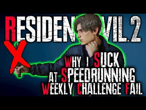 Weekly Challenges (that I will fail because this combo SUCKS) || Resident Evil 2 Remake LIVE