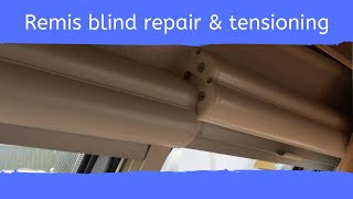 Remis blind repair and blind tensioning
