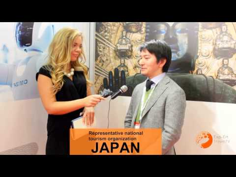 EXP ERT TRAVEL TV INTERVIEW at Japan national tourism organization EMITT 2017 JAPAN