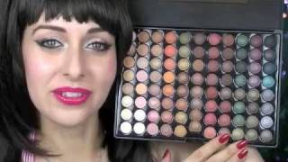 Blush Professional 88 Colour Hot Earth Eyeshadow Palette Review Thumbnail