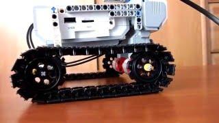 LEGO MINDSTORMS!!! вездеход +программа
