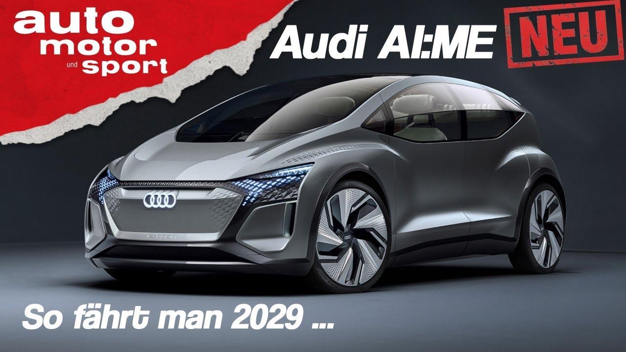 Neu: Audi AI:ME: So fährt man mit vier Ringen im Jahr 2029  | auto motor &sport