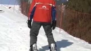 Обучение катанию на сноуборде. Часть 3