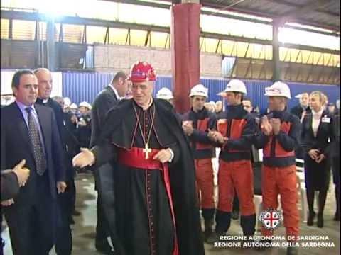 Cardinal Bertone nel Sulcis, Cappellacci: giornata di responsabilità e speranza