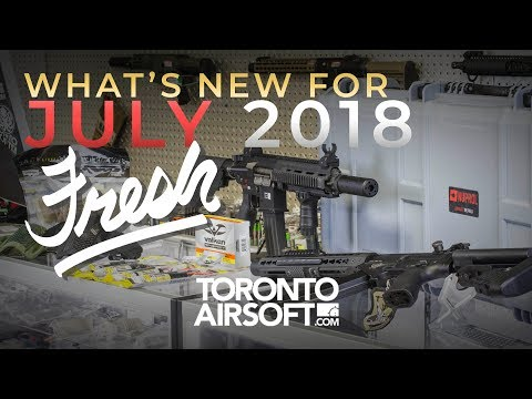 What's NEW? Fresh Product JULY 2018 - TorontoAirsoft.com