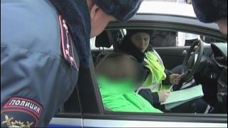 Пьяные муж и жена по очереди попались ДПС на Семафорной
