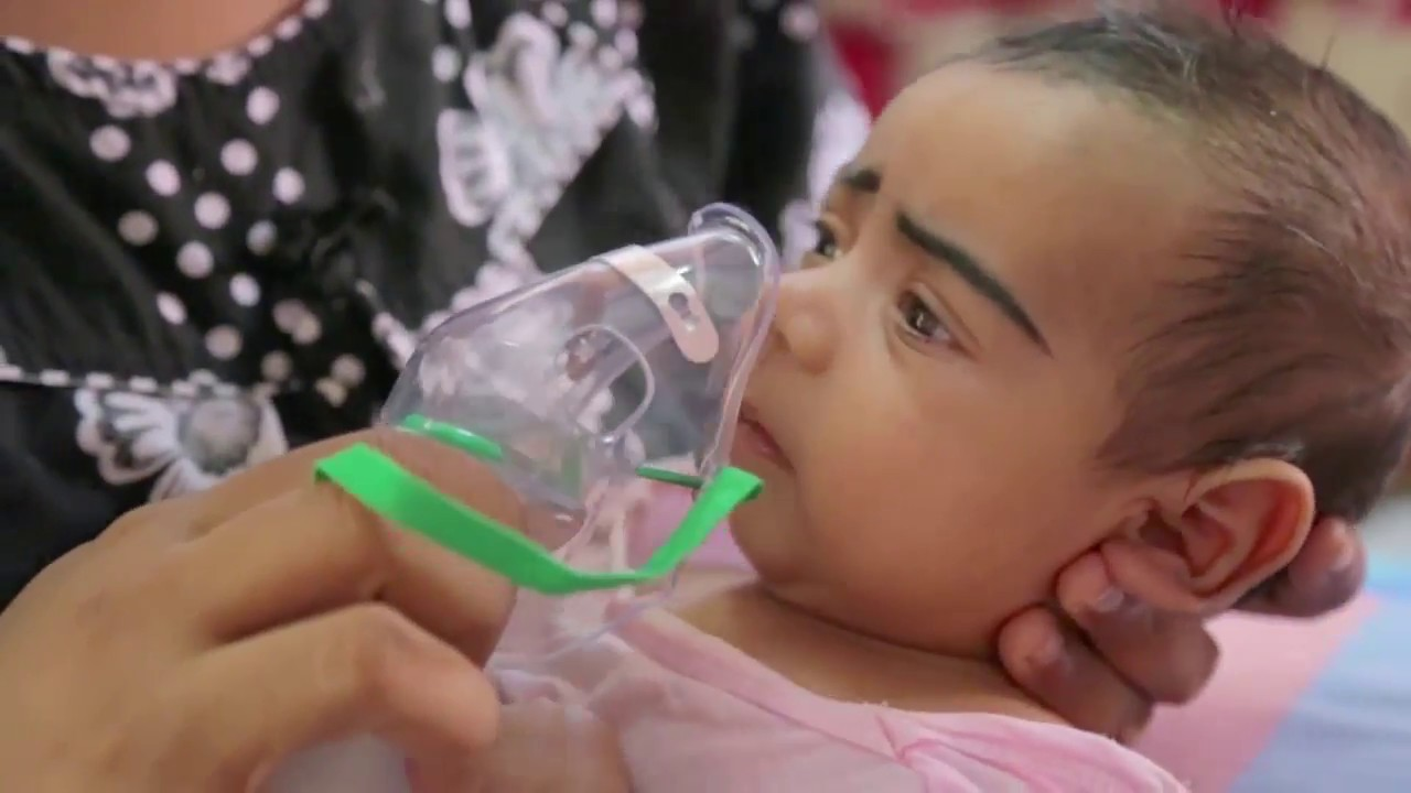 Nebulizer medicine for 2 month old baby, how to use nebulizer properly to  baby