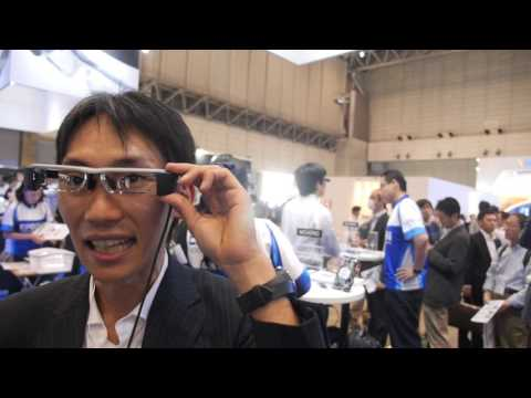 Epson BT200 AR Headset with augmented translation