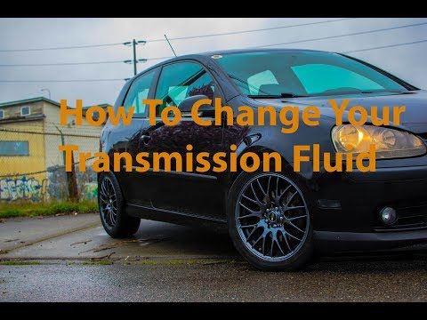 Transmission Oil Change For MK5 Rabbit 2.5 And Jetta 2.5
