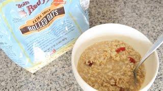 【レシピ】Hot Oatmeal 今度は温かいオートミール!色々ドライフルーツやココナッツオイル入り thumbnail