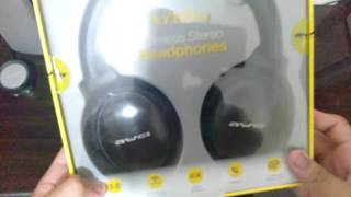 Awei A780bl Wireless Stereo Headphones | Unboxing