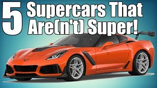 """5 Controversial """"Supercars"""" That Are(n't) Supercars!"""