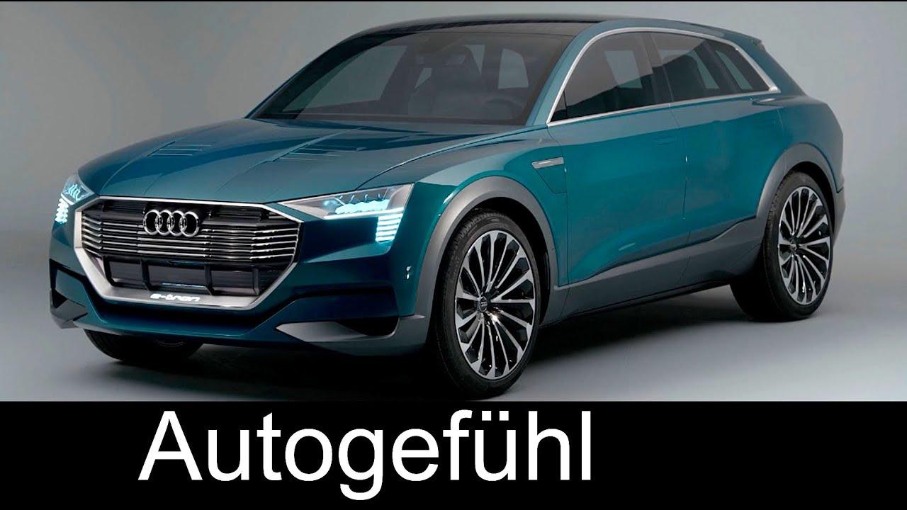 Audi Q6 E Tron >> Audi Q6 e-tron quattro concept for IAA motor show technology exterior interior (vs Tesla Model X ...