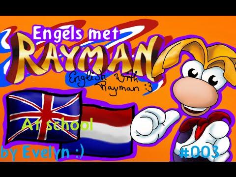 Engels met Rayman - Op school/At school #003