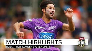 Open-shut Qais: Hurricanes snatch thrilling win over Sixers | KFC BBL|09
