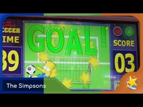 The Simpsons Soccer Dcd (sorry Is Buffering)