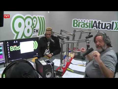 Mano Brown   Ao Vivo Radio BrasilAtual 98 9   Rede TVT