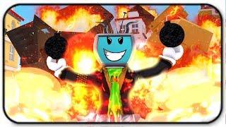 Blowing Up Random Objects - Roblox Bomb Simulator