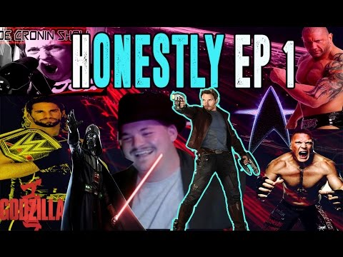 HONESTLY Episode 1 - WWE Movies Games Life  TommyNC2010 Interview