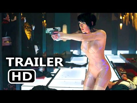 GHOST IN THE SHELL First 5 Minutes + ALL Trailers (2017) Scarlett Johansson Sci Fi Movie HD