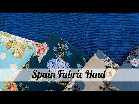 Spain Fabric Haul