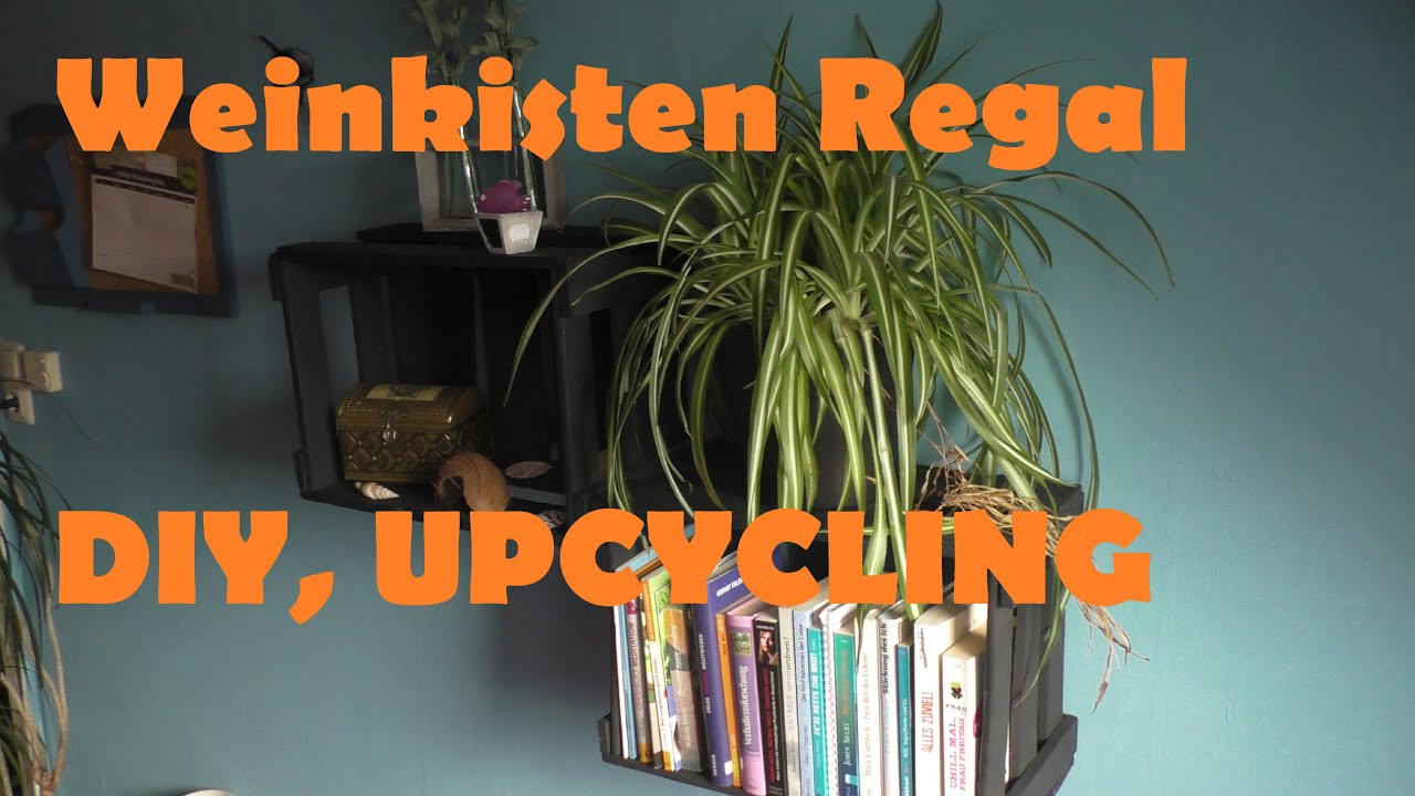 Weinkisten Regal Weinkisten Regal Upcycling Diy Inspiration Wohnung Verschönern Deko