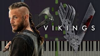 Vikings Main Theme If I Had A Heart Piano Tutorial