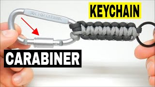 Carabiner Keychain - Utility Series Tactical Paracord