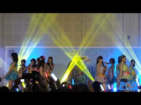 [140223] JKT48 - Bingo + Kimi to Boku no Kankei (Manatsu no Sounds Good Handashake Event)