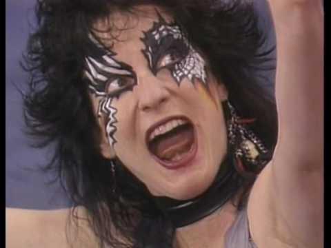 GLOW Gorgeous Ladies of Wrestling Heavy Metal Sisters vs Southern Belles