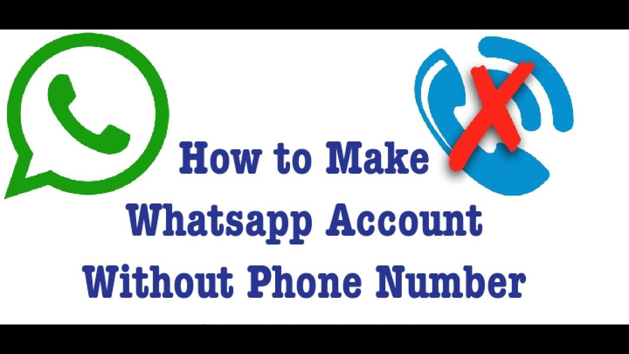 Make Whatsapp Account Without Phone Number By Mg Creation