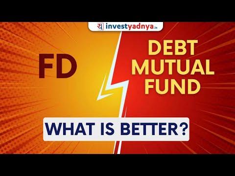 Debt Funds vs FD in Hindi | Fixed Deposit और Debt Funds में क्या अंतर है | Explained in Hindi