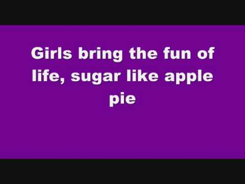"""""""About A Girl"""" - Sugababes (Lyrics On Screen)"""