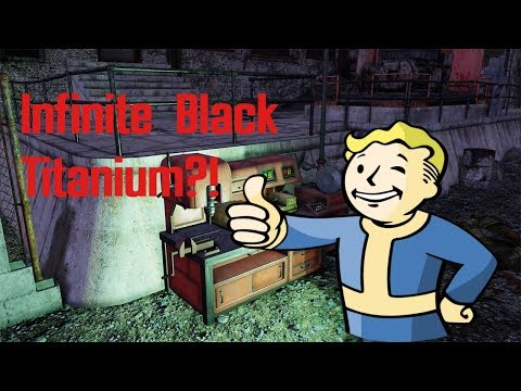 How To Get Infinite Black Titanium In Fallout 76|Black Titanium Farm|Titanium Resource Location