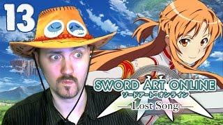 Ледяной остров [Sword Art Online Lost Song]#13