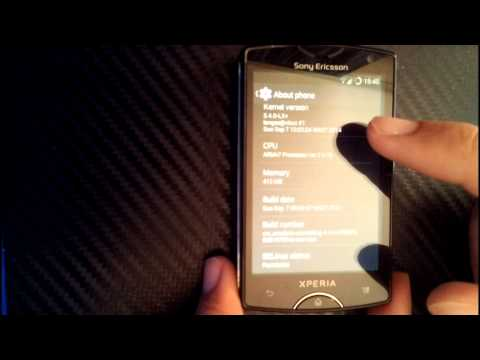 Sony Ericsson Xperia Mini (ST15i) CyanogenMod CM 11  **  4.4.4 KitKat
