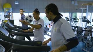 Adidas Football and Street Style Society visited Gareth Bale at Real Madrid City!