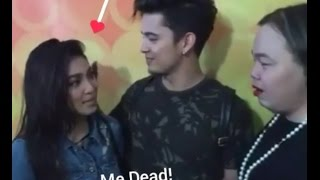 """JaDine """"KILIG""""  interview with Darla, before the ABS-CBN Christmas Special 2016(12-13-16)"""