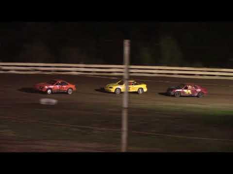 Hummingbird Speedway (9-15-18): Aaron's Four-Cylinder Heat Race #1