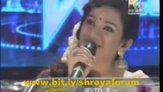 Shreya Ghoshal in kid's voice.....