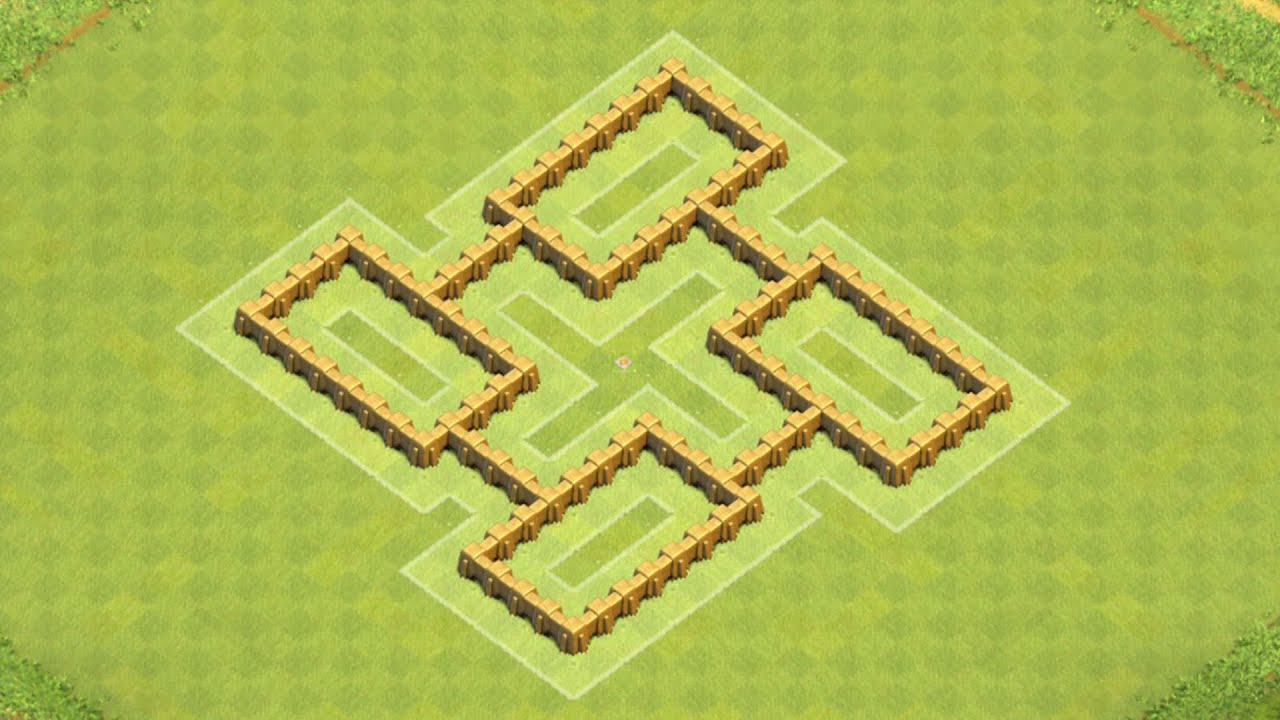 Defense best coc th5 hybrid base layout defense strategy youtube