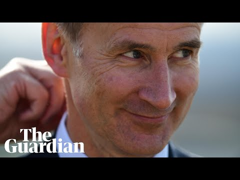 Jeremy Hunt releases official campaign video: 'I like to prove people wrong'