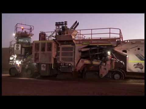 WIRTGEN GmbH┃Job Report: Impressive Iron Ore Mining In Australia With Surface Miner