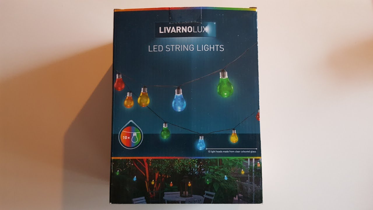 Gartenlaterne Led A Look At The Livarnolux Led String Light With E27 Glass Bulbs
