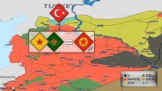 Как будут урегулировать войну в Сирии после разгрома ИГИЛ? Какие территории занимает каждая сторона?