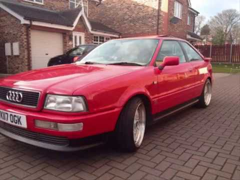 audi 80 coupe 1993 v6 b4 spec s2 replica quattro bbs youtube. Black Bedroom Furniture Sets. Home Design Ideas