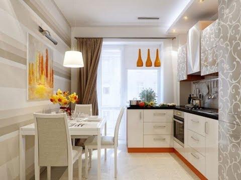 Кухня с Выходом на Балкон - дизайн - фото 2018 / Kitchen With Exit To Balcony Design Photo