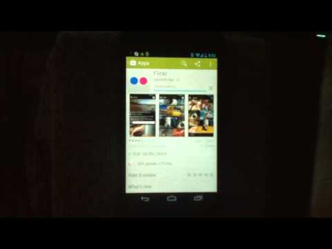 Install Flickr To Android Phone