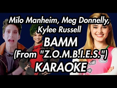 "Milo Manheim, Meg Donnelly, Kylee Russell - BAMM (From ""Z.O.M.B.I.E.S."")(KARAOKE VERSION)"